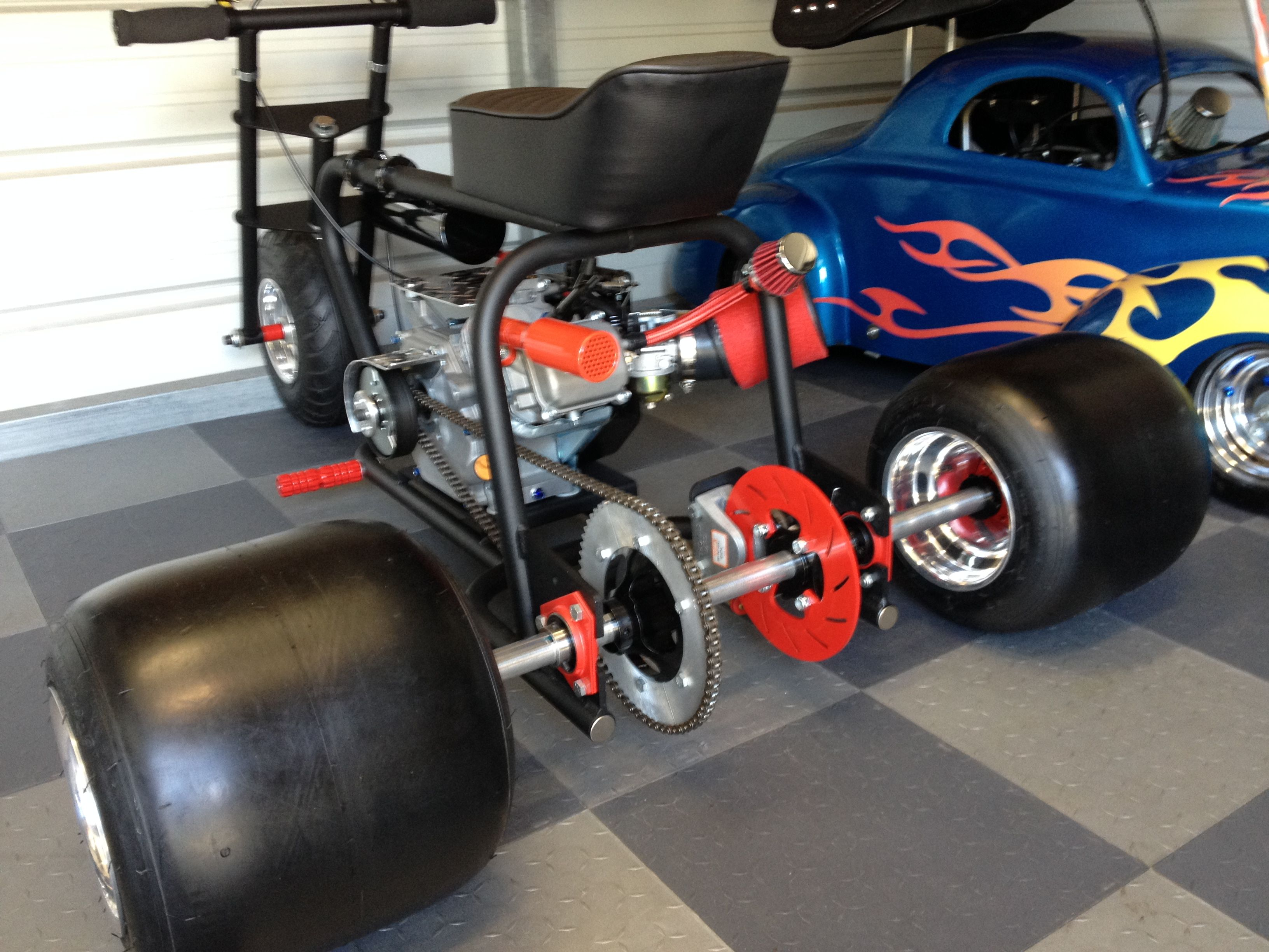 For sale custom 3 wheel mini bike show bike gas