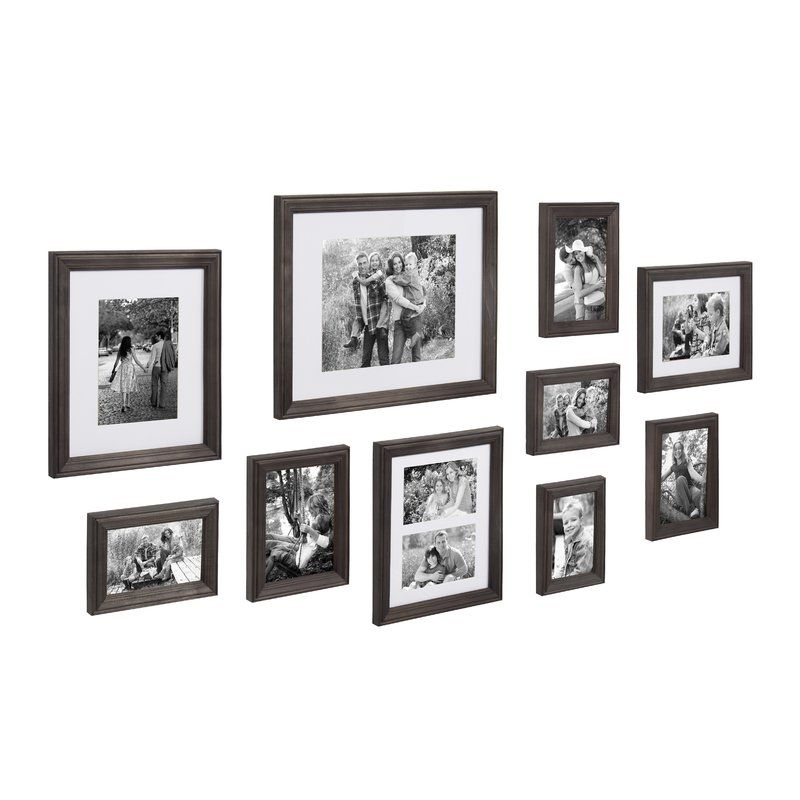 10 Piece Mcclaskey Gallery Picture Frame Set Decoracion De Unas Decoracion De Interiores Living