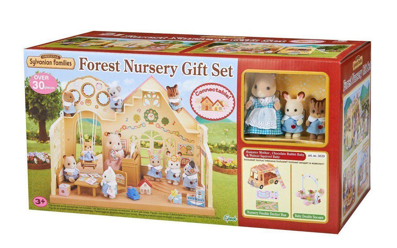 Sylvanian Families Forest Nursery Gift Set 5176 Forest Nursery Nursery Gift Rainbow Nursery