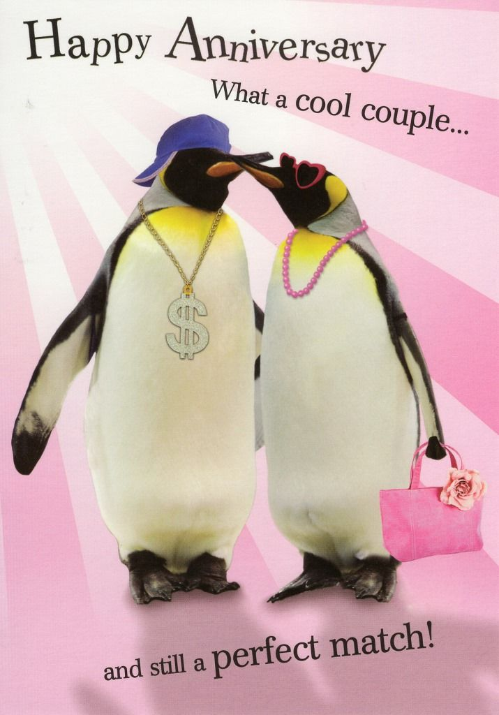 Happy anniversary cool couple greeting card days pinterest happy anniversary cool couple greeting card bookmarktalkfo Images
