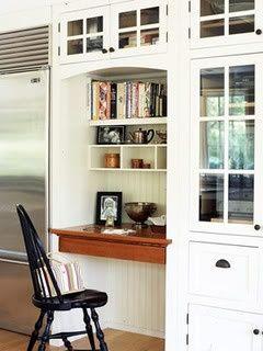 kitchen media center | Kitchen control center | Kitchen Ideas