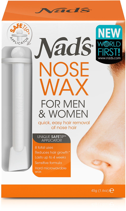 Nads Natural Nose Wax Kit for Men & Women Nad's No