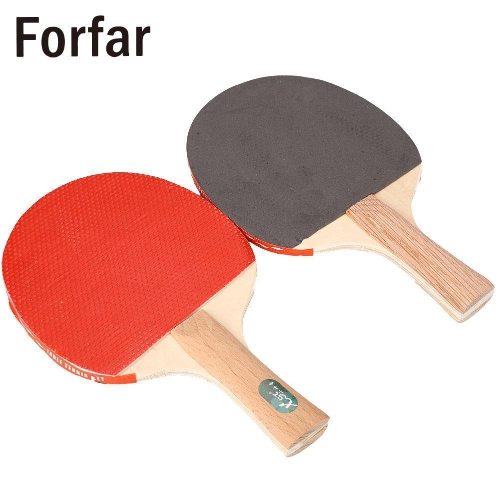 Table Tennis Racket Professional Ping Pong Paddle Bat W 3 Balls Sports Us 9 16 Table Tennis Racket Table Tennis Ping Pong Paddles