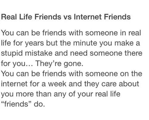 They Re With You Because They Want To Be They Can Leave You Without Ever Telling You But They Don T Internet Friends Quotes Friends Quotes Internet Friends