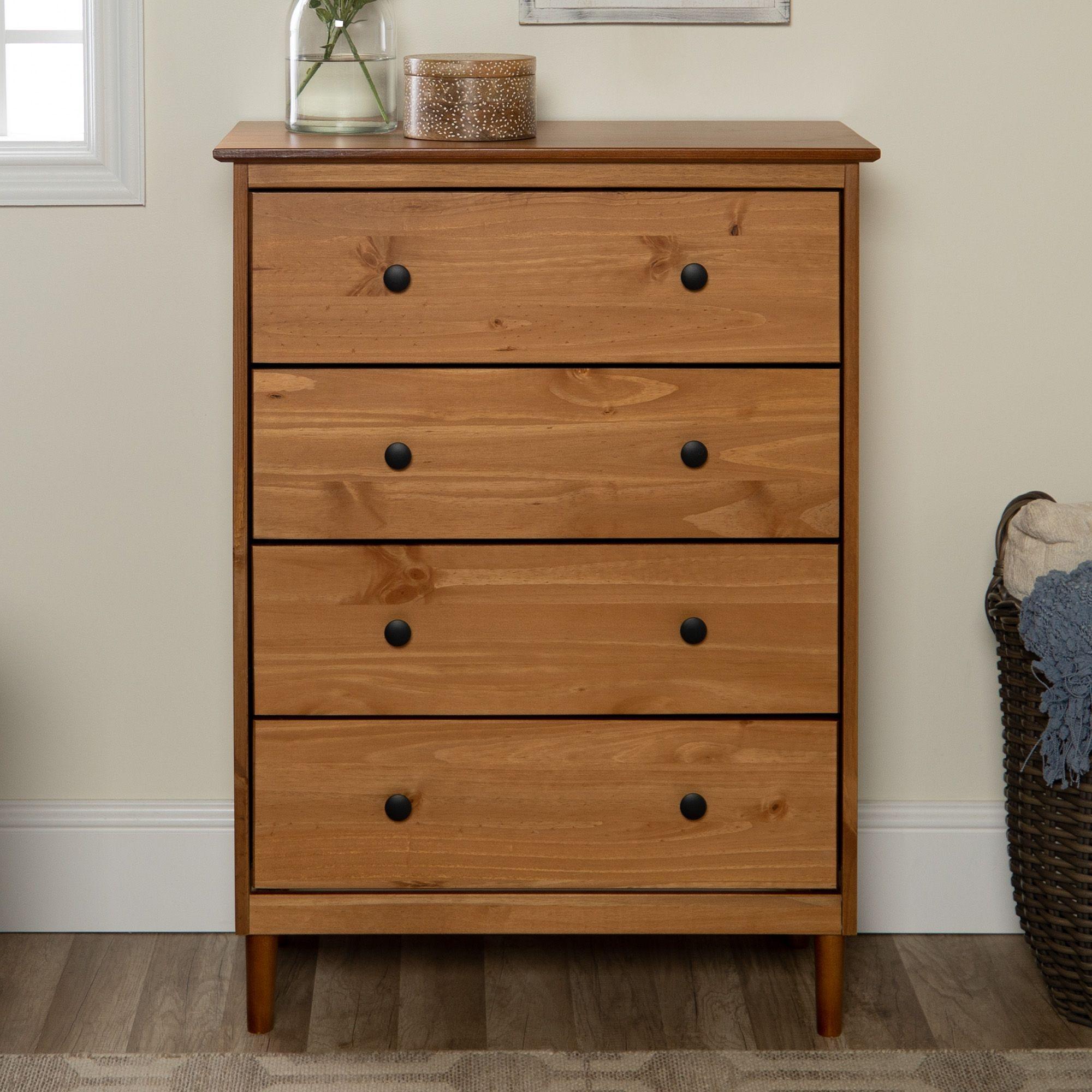 Jules 4 Drawer Solid Wood Caramel Dresser By Bellamy Studios Walmart Com Wood Dresser Solid Wood Dresser Dressers For Sale [ 2000 x 2000 Pixel ]