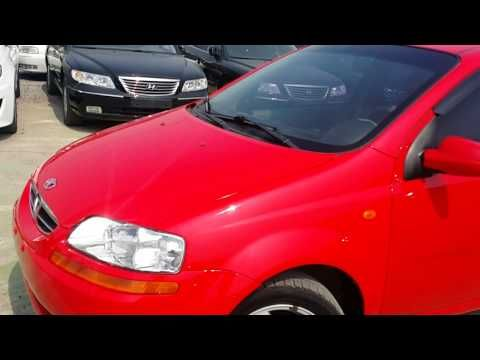 Used Cars 2003 Gm Daewoo Kalos 1 2sohc For Sale From S Korea