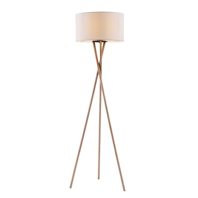Kennerson 61 Tripod Floor Lamp Tripod Floor Lamps Floor Lamp Metal Floor Lamps