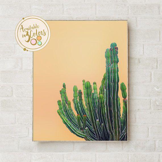 Catus Print Art Cactus Decor Cactus Poster Cactus Wall Art   Cactus ...