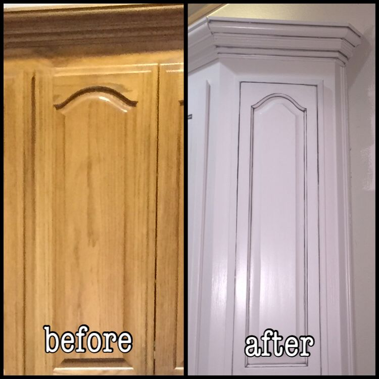 Refacing Old Kitchen Cabinets: Kitchen Cabinet Reface Using Sherwin Williams Moderate