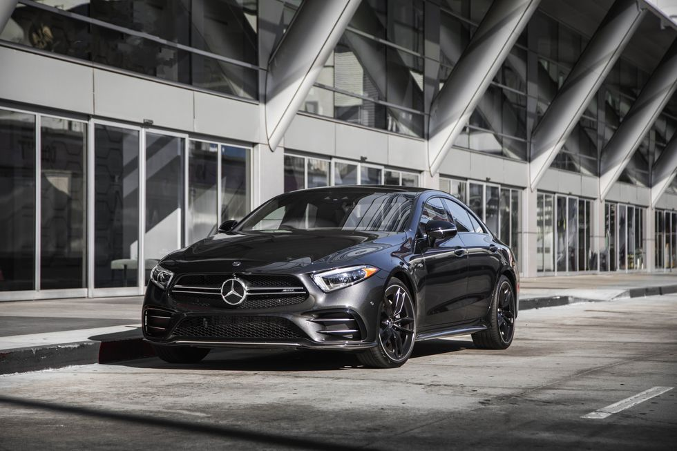 2020 Mercedes Amg Cls53 Review Pricing And Specs Mercedes Amg