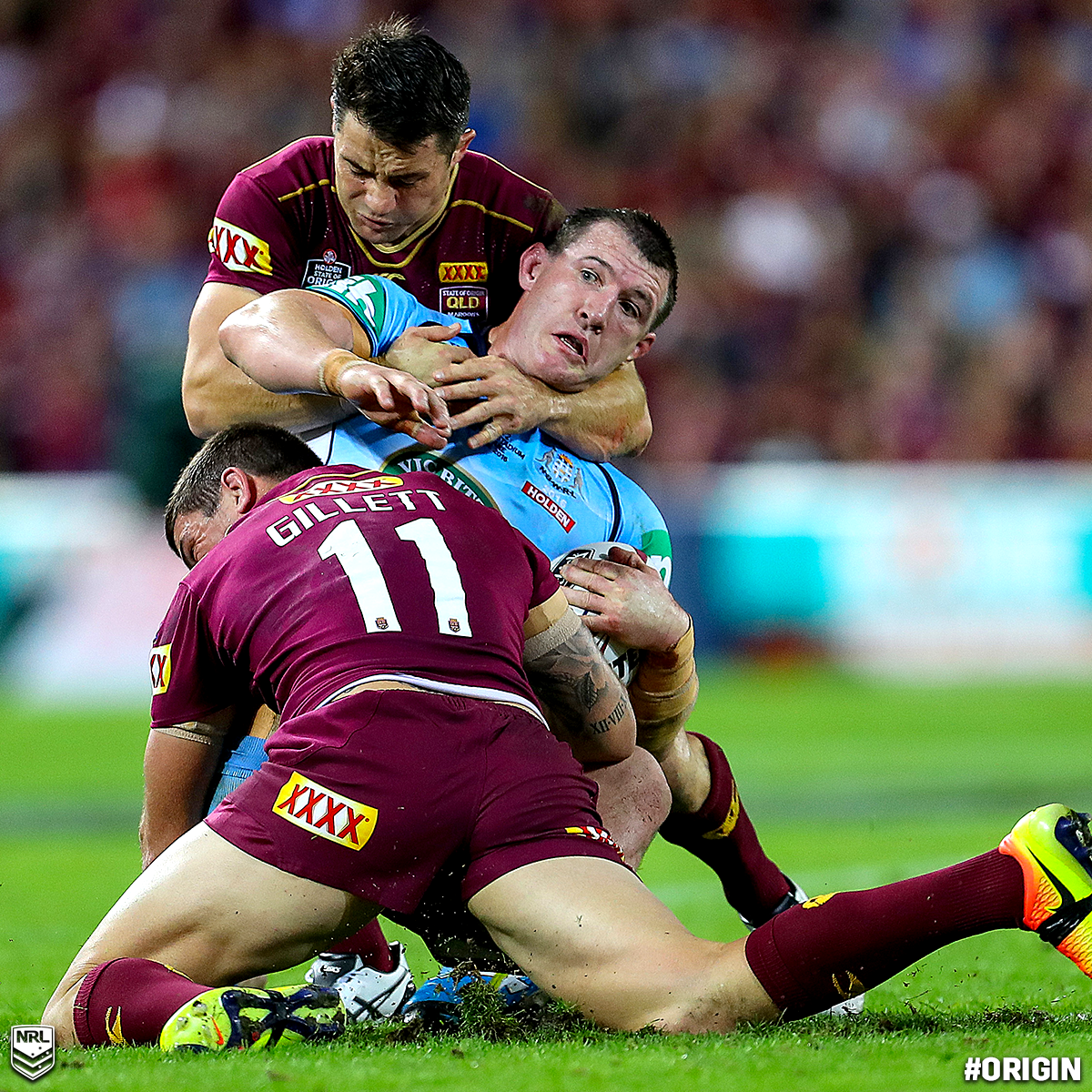 Love Gallen's Facial Expression In This Photo