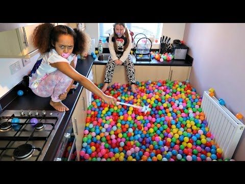 Bad Baby Tiana Magic Powers Crazy Plastic Ball Pits In Our