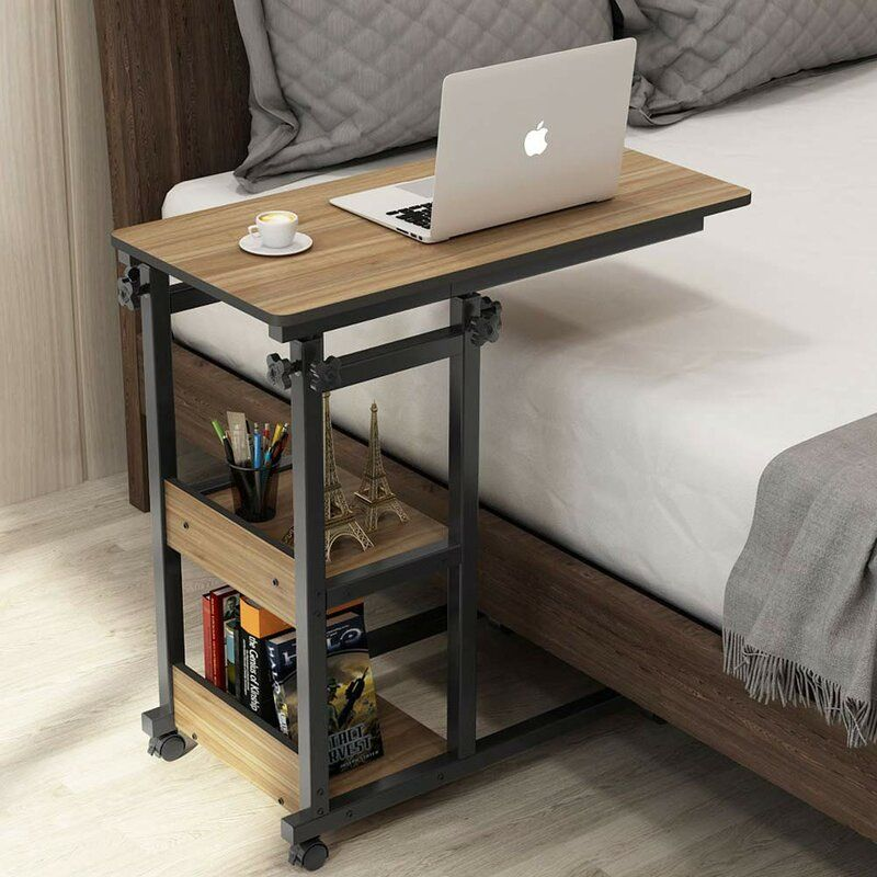 Livingon End Table In 2020 Furniture Overbed Table Sofa Side Table