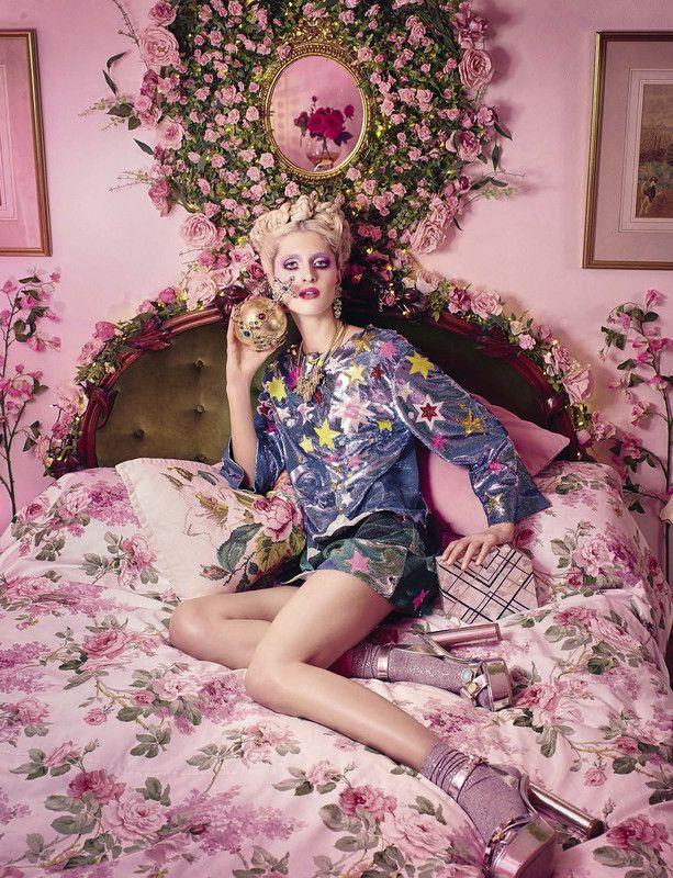 'Fantasy' ~ Eveline Rosing by Sandrine Dulermo & Michael Labica for Glamour Italia, February 2016