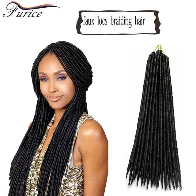 14inch Faux Locs Crochet Hair Dreadlocks Braids Havana Mambo Twist
