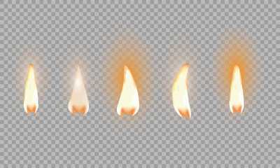 Candle Flame Stock Photos Royalty Free Images Vectors Video Realistic Candles Candle Flames Best Candles