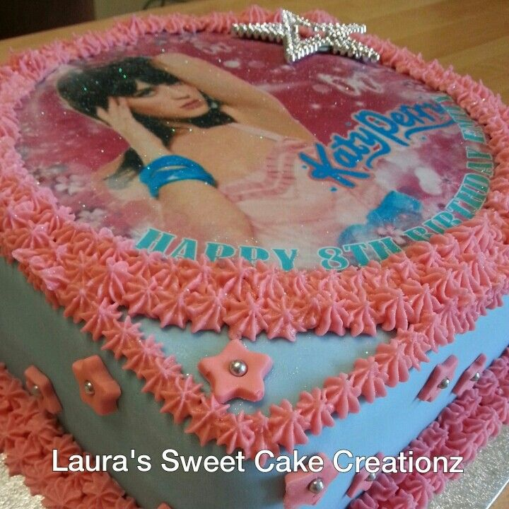 Katy Perry Cake Made By Me April 2013 Katy Perry Pinterest