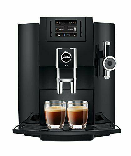 Jura 15109 Jura E8 Super Automatic Espresso Machine With P E P Automatic Coffee Machine Espresso Coffee Machine Coffee Machine