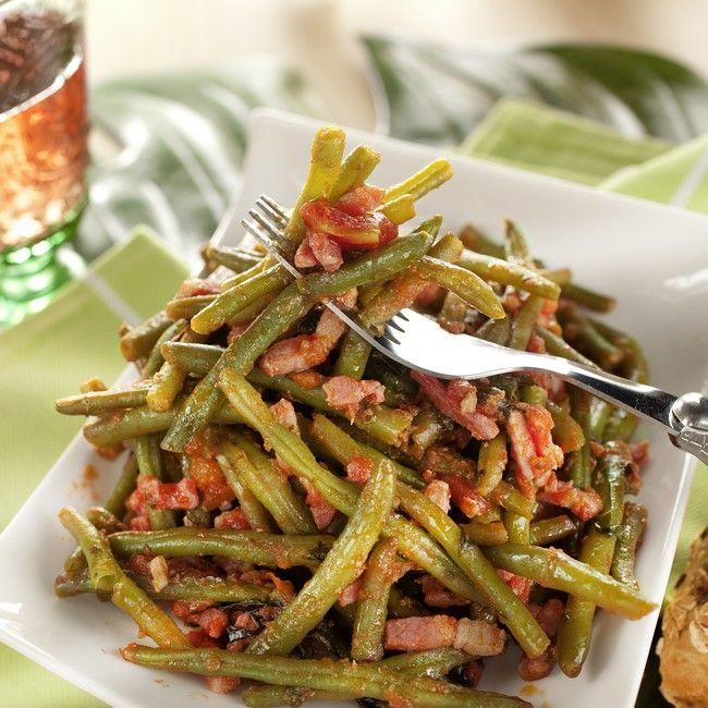 Haricots verts la proven ale recette recette - Cuisiner haricots verts surgeles ...