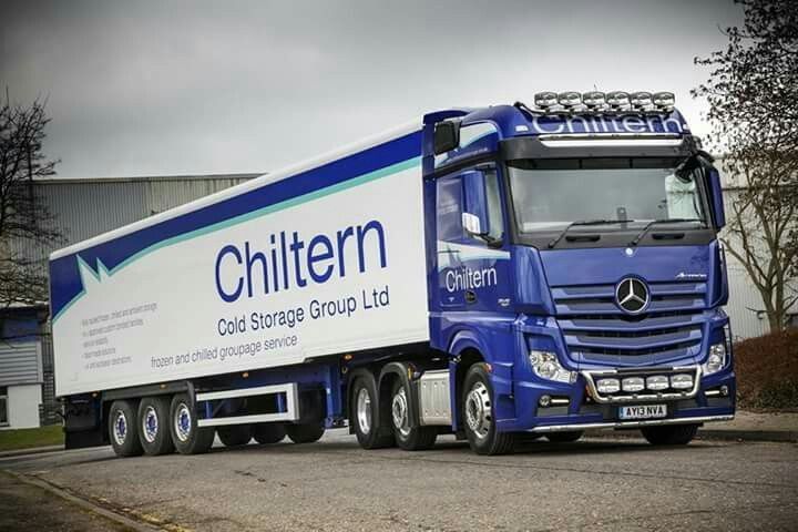 Chiltern Cold Storage Group New Blue Mercedes Benz Mercedes Benz Commercial Mercedes Benz Trucks