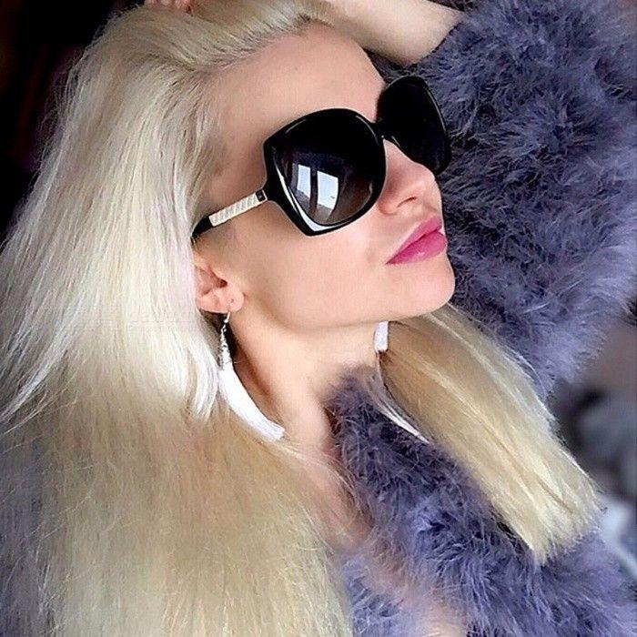 869c4cac3893 Aoron High-End Polarized UV400 Sunglasses for Women, Vintage Style Female  Original Famous Sun Glasses with Logo leopard