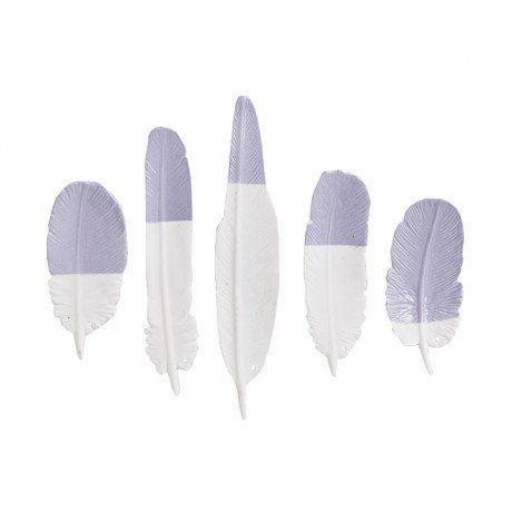 Violet Dipped Feathers by Have You Met Miss Jones?