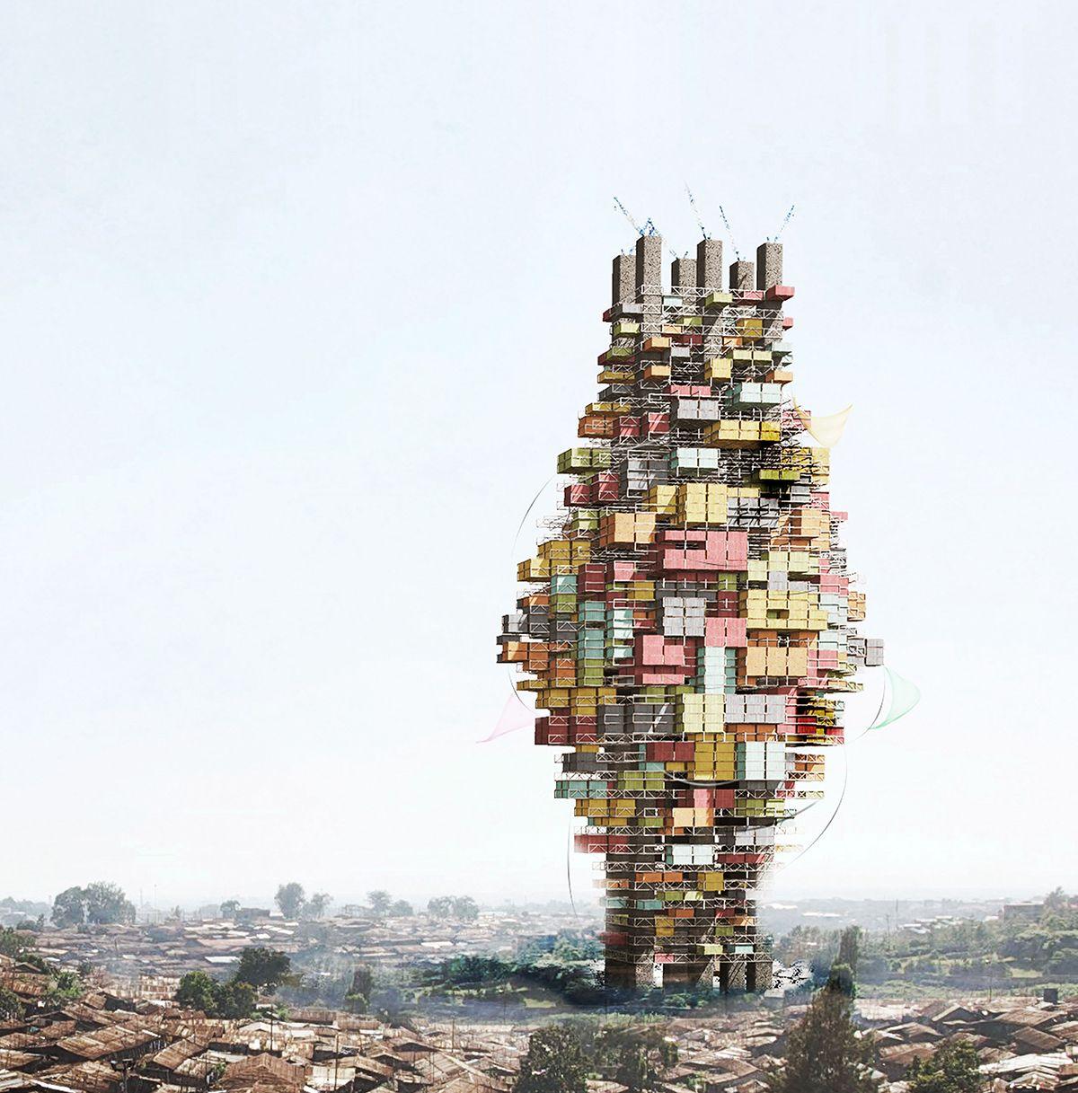 Amazing Architecture Magazine: Adaptive Capacity: A Socio-ecological Vertical Community