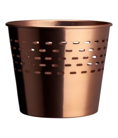 H M Metal Pot 7 99 Metal Containers Metal Natural Household Cleaner