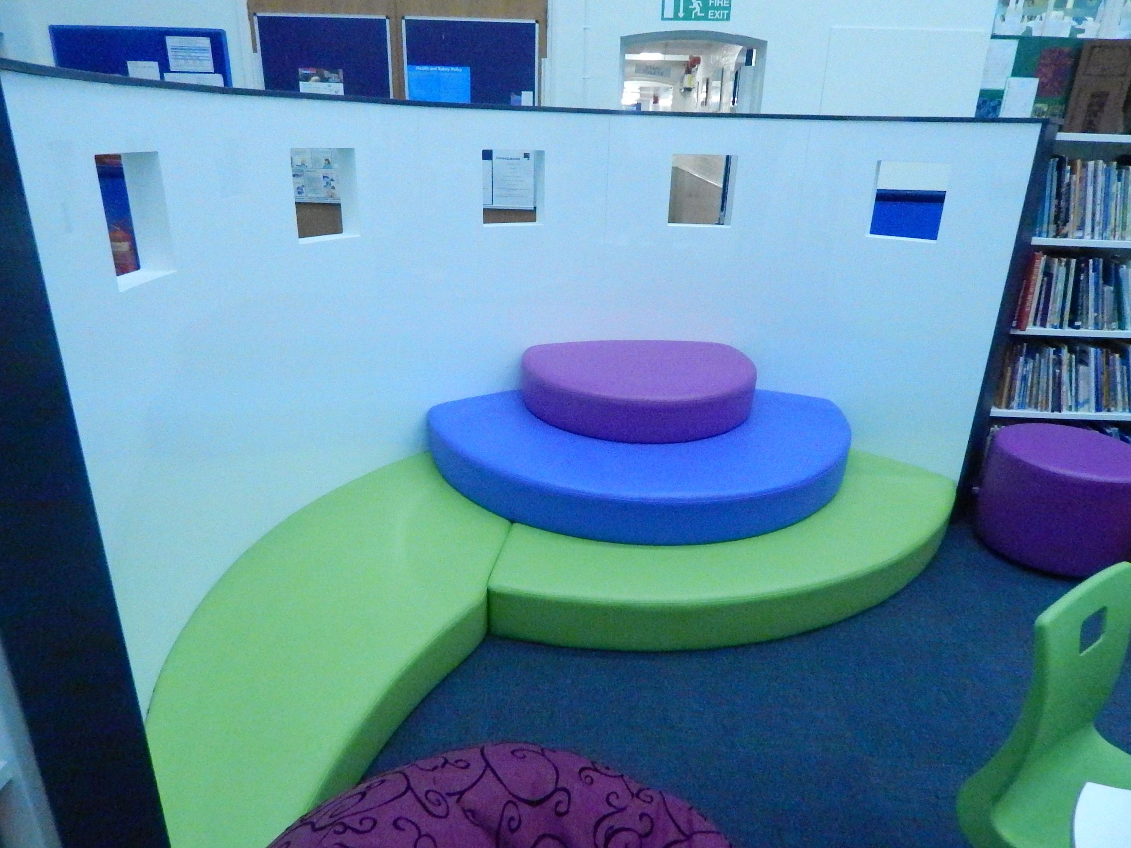 Wollaston Community Primary School Demco Interiors Inspiring Library Design Nursery school