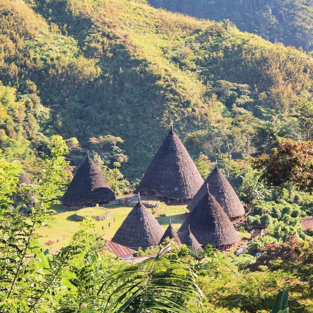Desa Waerebo, Flores, Indonesia Indonesia, Rural area