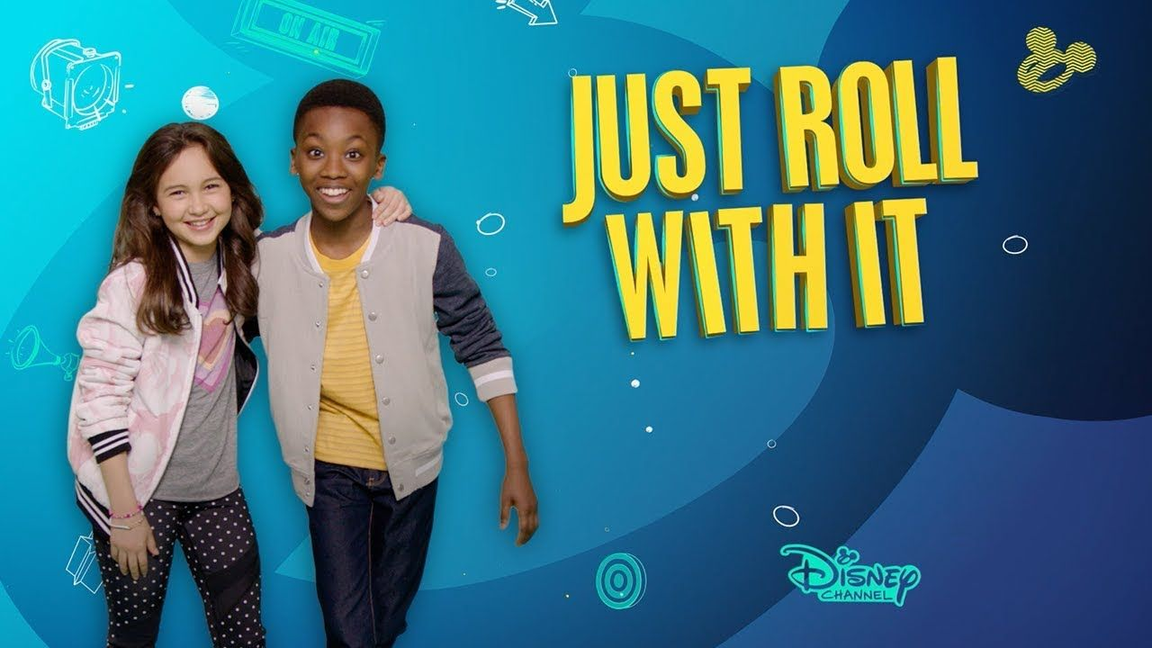 Talking Crazy Just Roll With It Disney Channel Disney Channel Cartoon Kids Cartoon Tv