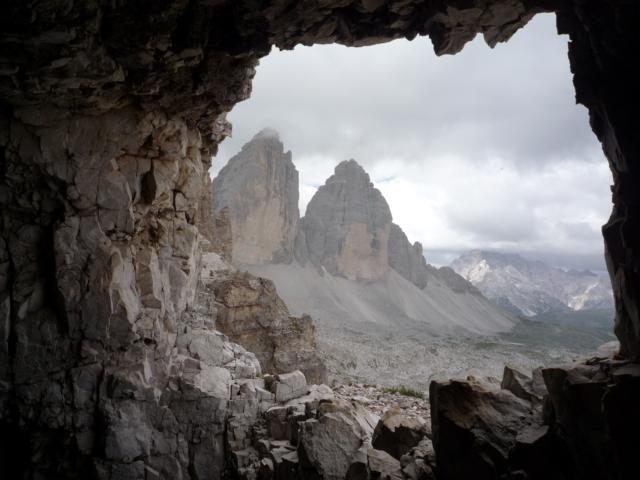 Klettersteig Paternkofel : Klettersteig paternkofel via ferrata de luca innerkofler