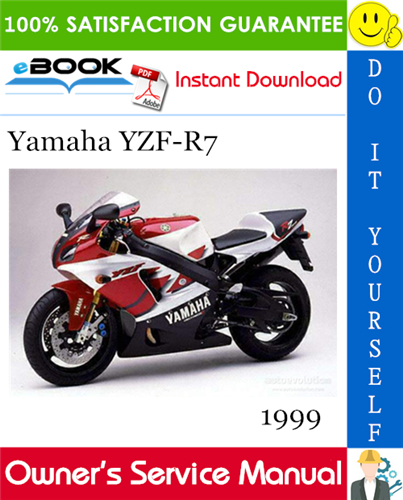 1999 Yamaha Yzf R7 Motorcycle Owner S Service Manual Yamaha Yzf Yamaha Motorcycle