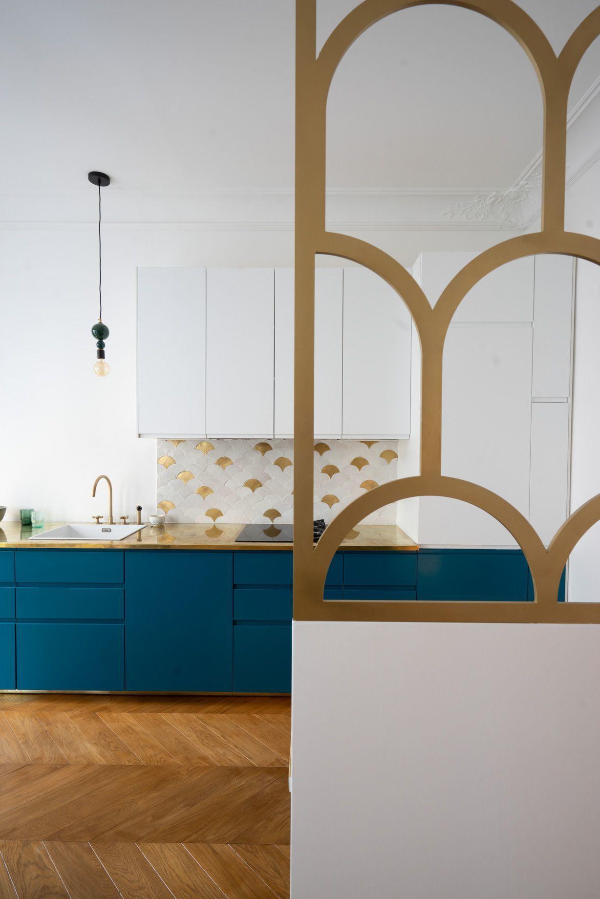 Ebom  Inspiración: cómo no, un piso en París  Maison art déco