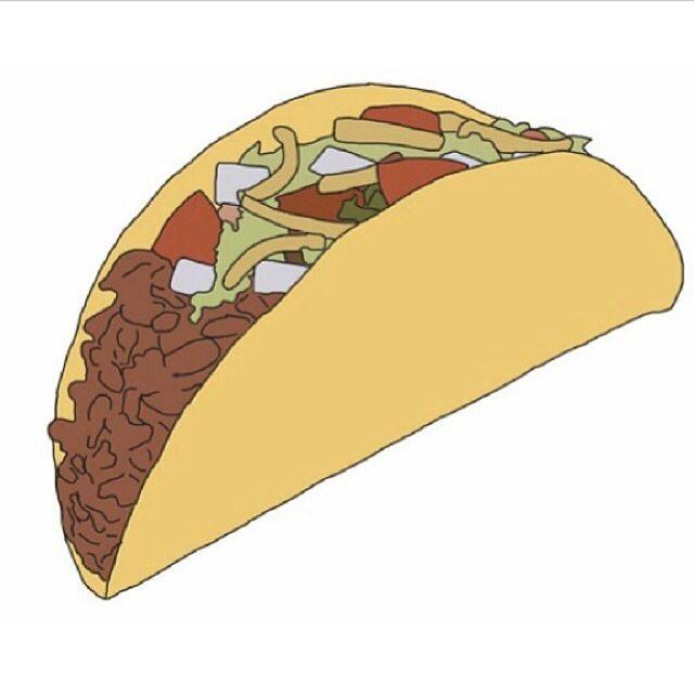 Doritos Stickers: Tacos Is My Life But Mainly Taco Bell's Doritos Locos