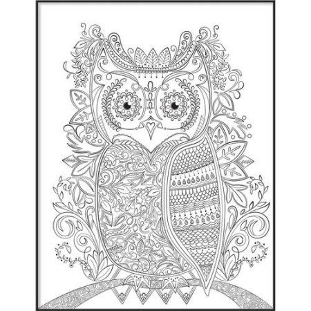 Home Owl Wall Art Diy Framed Art Framed Art