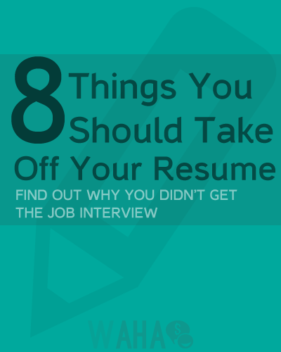 eight things you should never put on a resume cleaning