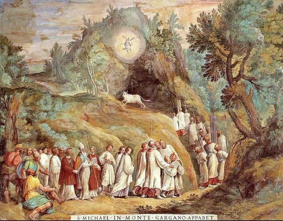 8 Mai L Apparition De Saint Michel Au Mont Gargan En 492 Erzengel Religiöse Bilder St Michael