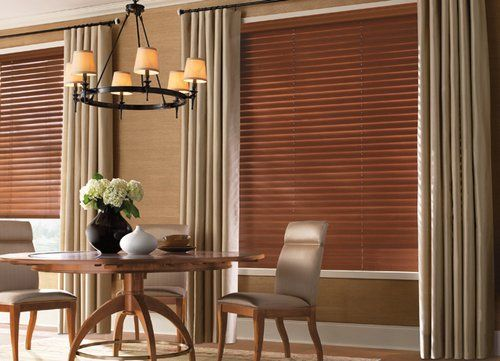 Blinds And Curtains Combination Google Search Curtains With Blinds Living Room Blinds Wood Blinds