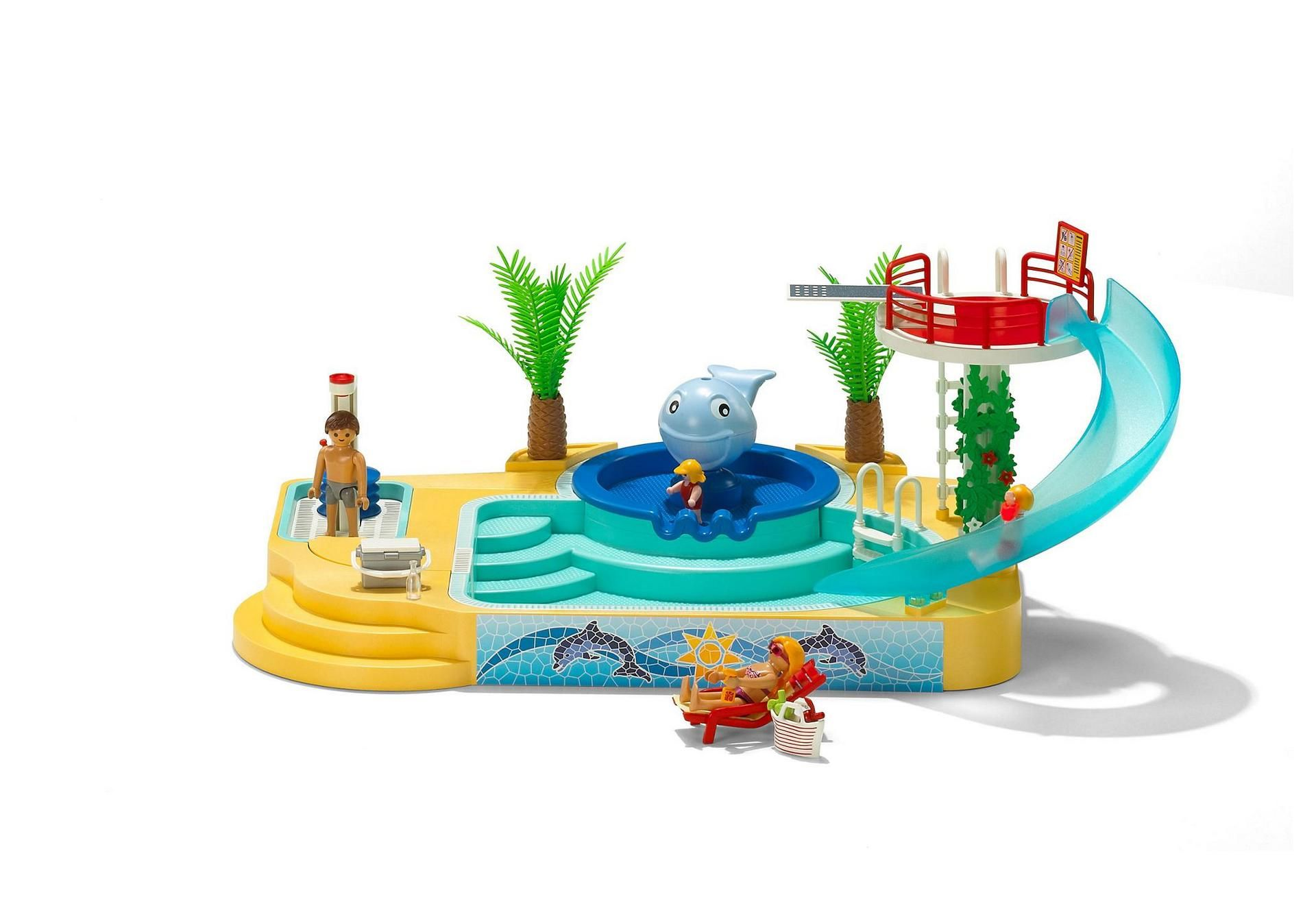 Children`s Pool with Whale Fountain - 5433 - PLAYMOBIL® USA | M\'s ...