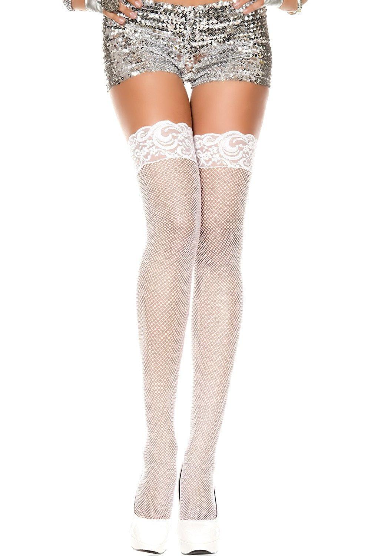 84aab20fe Bridal White Stockings Hosiery Thigh Highs