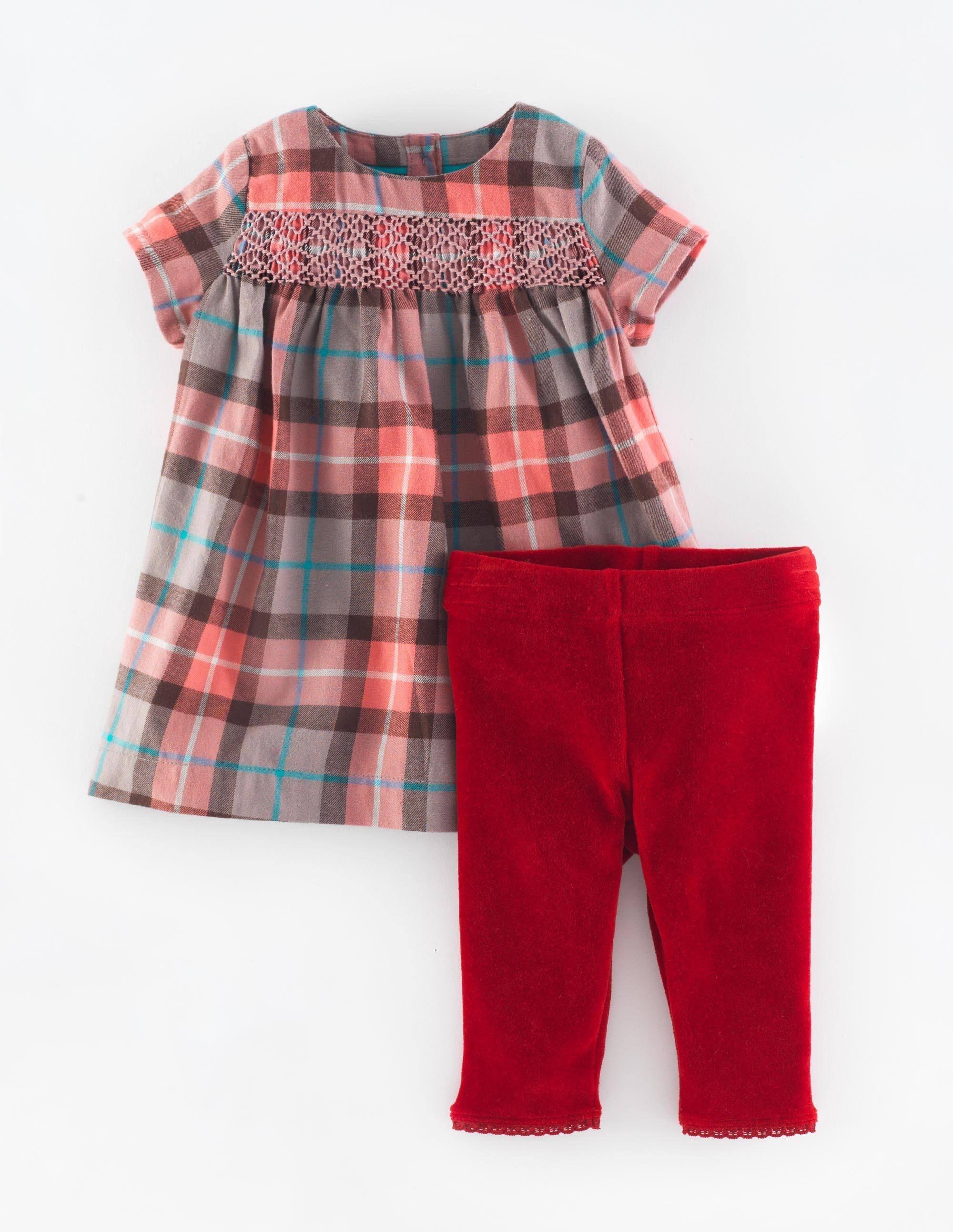 Set mit Partykleid & Leggings | Babykleidung | Pinterest | Babies