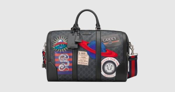 ba56e82bda2b1b Gucci Night Courrier soft GG Supreme carry-on duffle | Men fashion ...