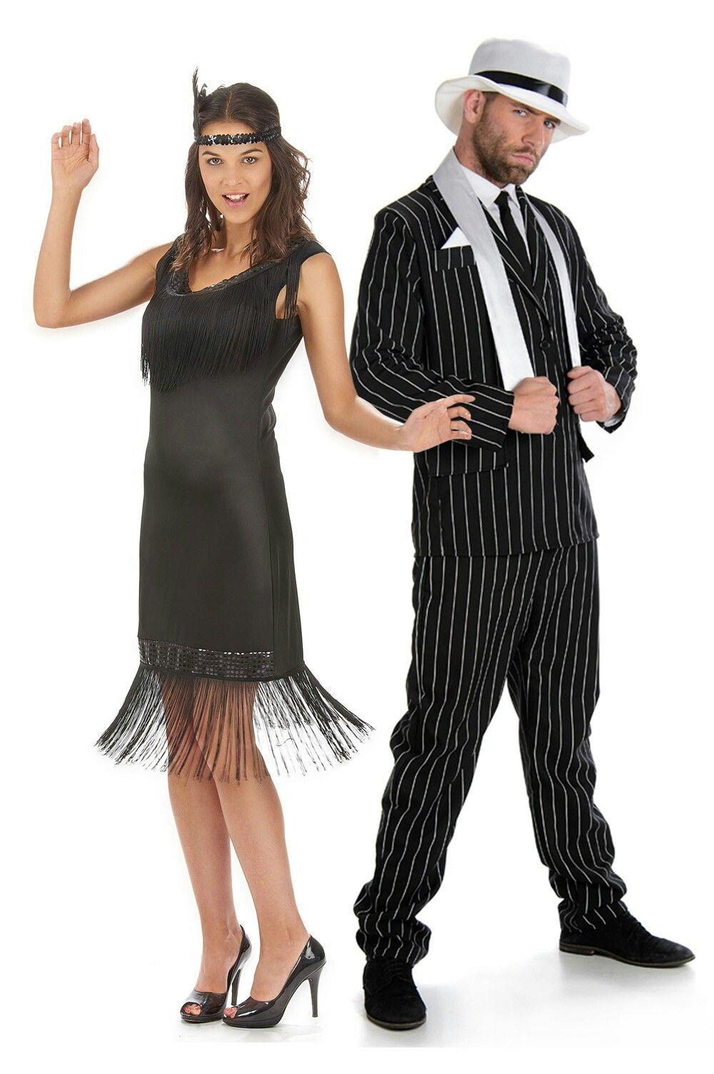 Pareja Años 20 Charleston Diy Costumes Women Outfits Burlesque Costume