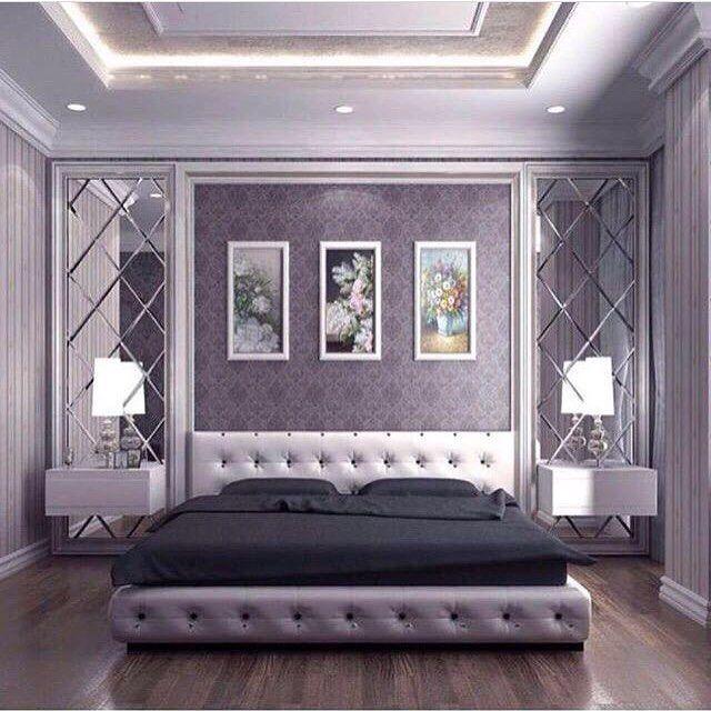 609553279ديكورات ورق جدران اصباغ ديكورات تصميم ورق جدران اصباغ جبس بورد ديكورات داخليه ديكور Home Decor Bedroom Bedroom Interior Luxury Bedroom Master