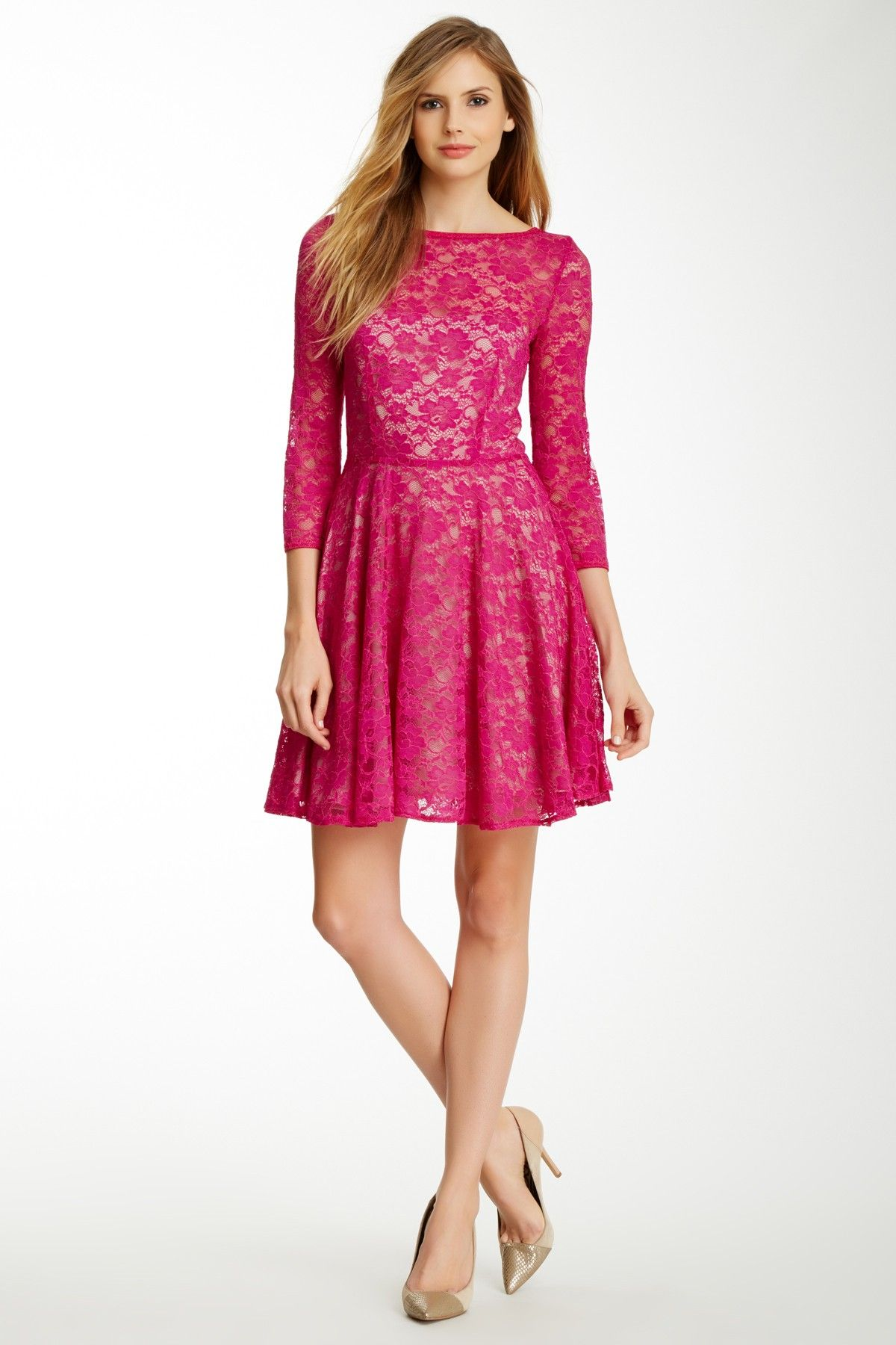 French connection lizzie lace dress nordstrom rack