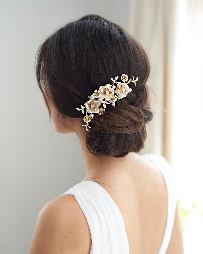 rosie floral hair clip | wedding in 2019 | wedding hair