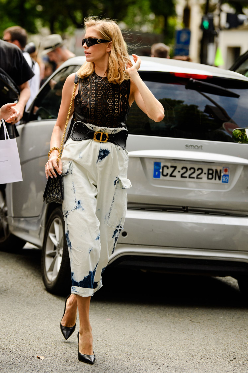 All the Chicest Looks on the Couture Streets in Paris