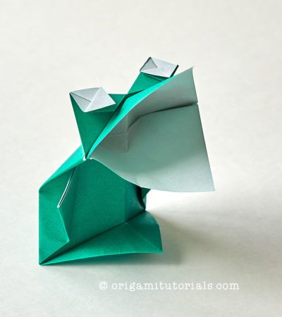 Photo of Origami Talking Frog – Origami Tutorials