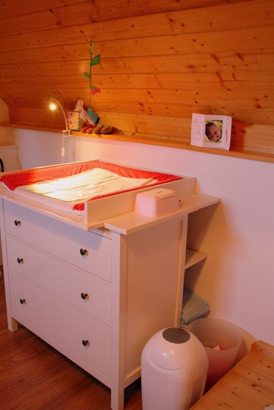 hemnes wickelauflage diy beybi wickelkommode kinderzimmer baby. Black Bedroom Furniture Sets. Home Design Ideas